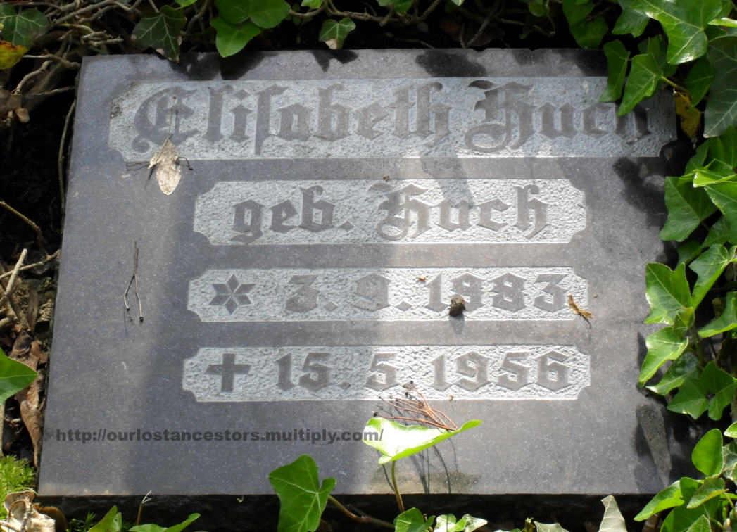 Elisabeth Huch, nee Huch