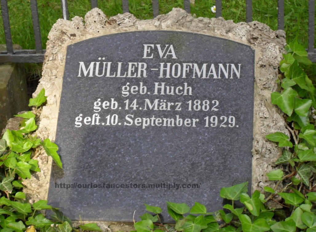 Eva Müller-Hofmann, nee Huch