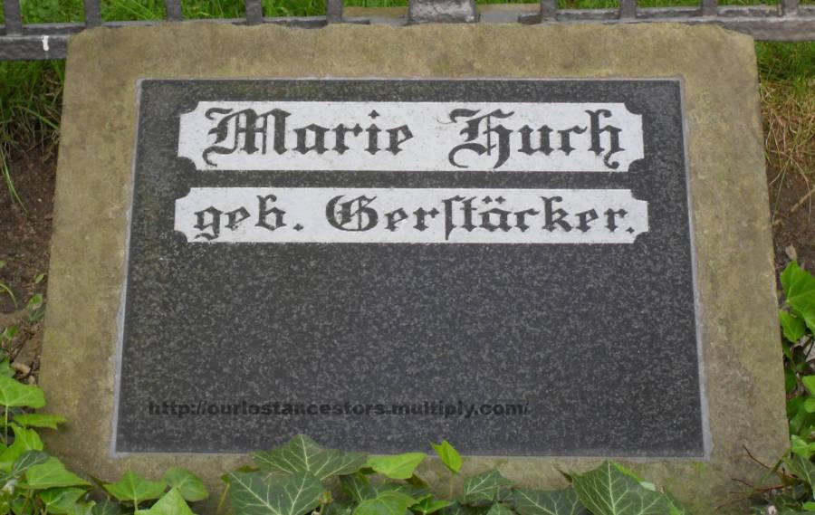 Marie Huch, nee Gerstäcker