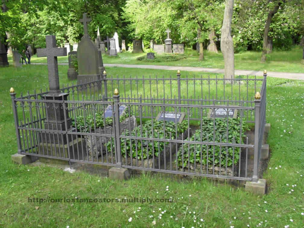 The Gerstäcker family grave