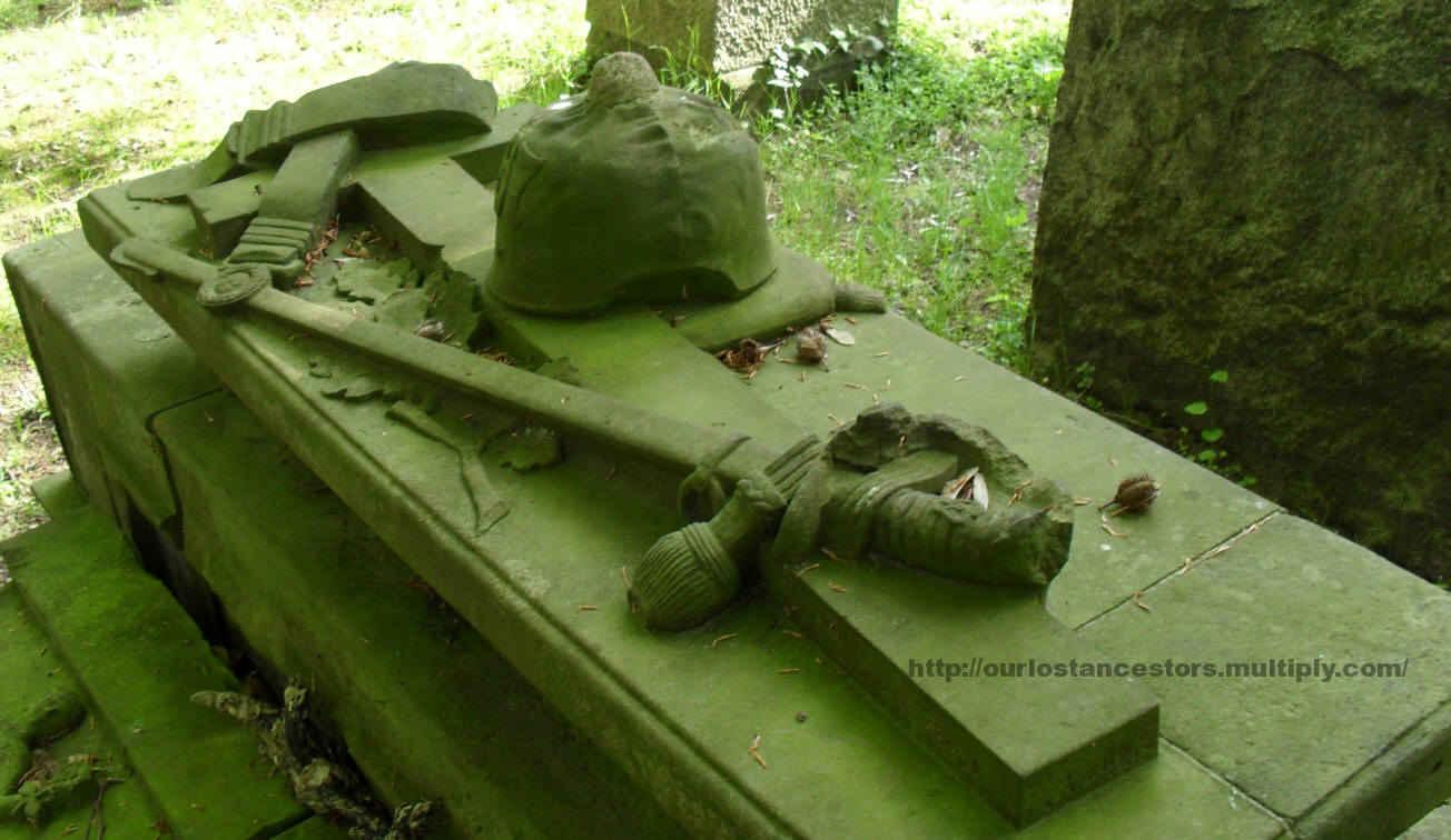 The von Strotha family grave