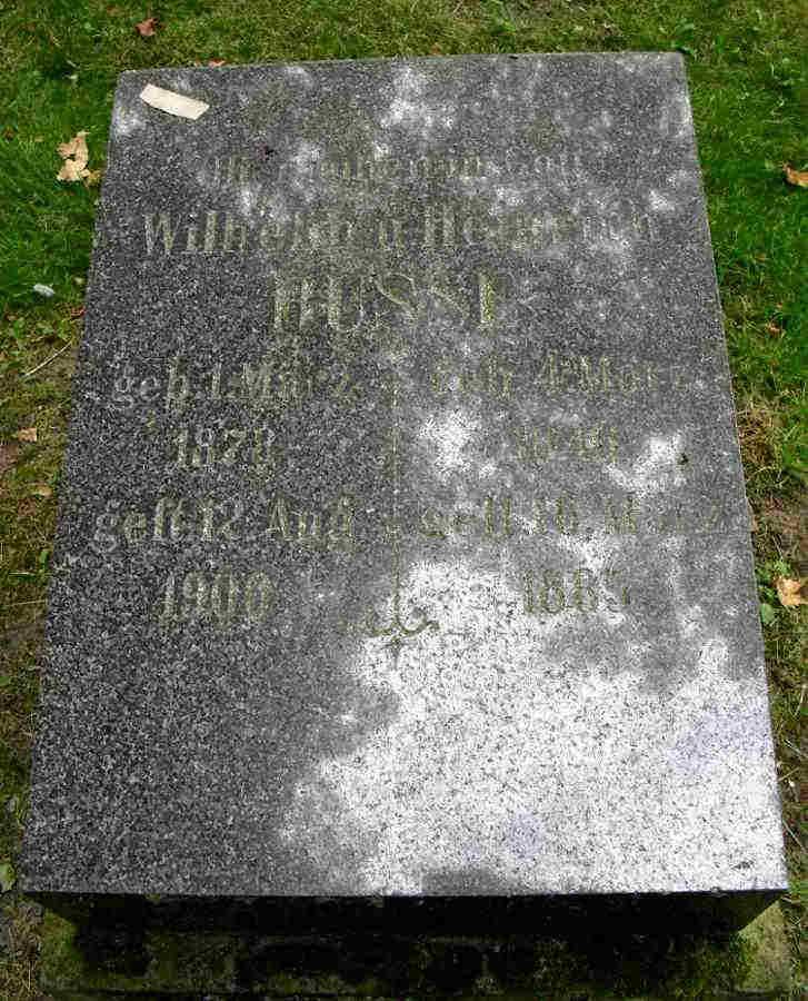 Wilhelm and Heinrich Busse