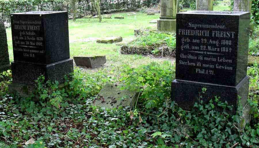 Friedrich and Helene Freist