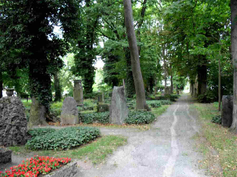 Brunswick, St Petri Cemetery, Germany