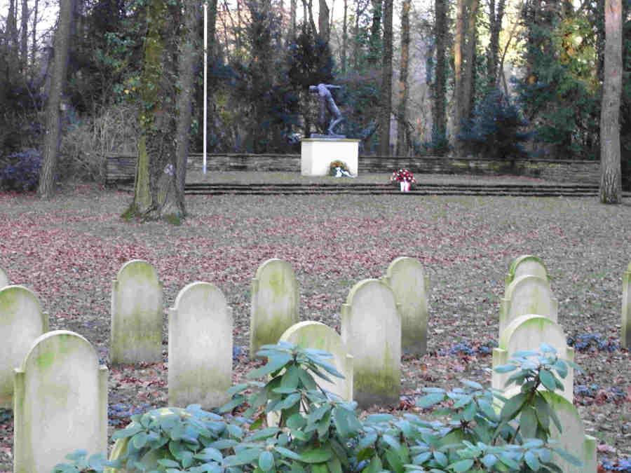 Waldfriedhof (Forest Cemetery), Frankfurt/Main, Hesse, Germany