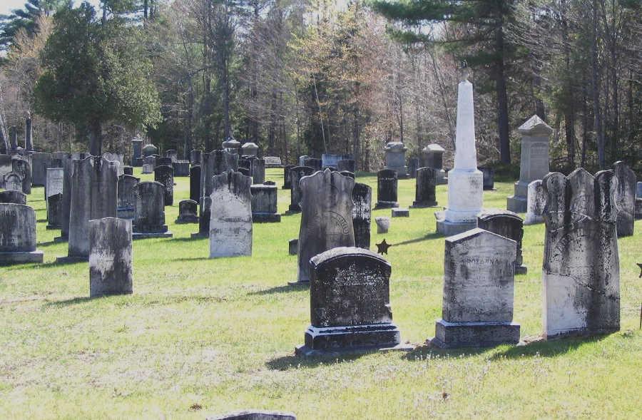 Hill Cemetery, Gray, Maine, USA