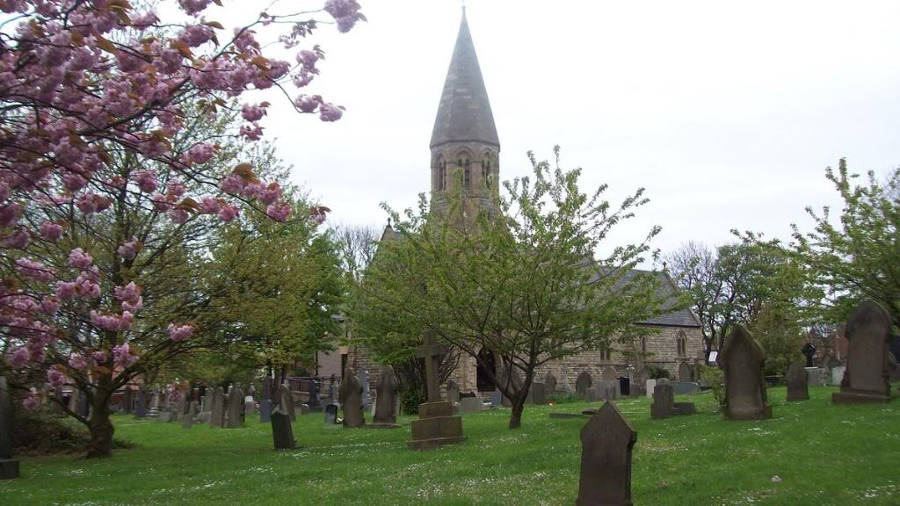 St Peters Church, Harton, Sout Shields, Tyne and Wear