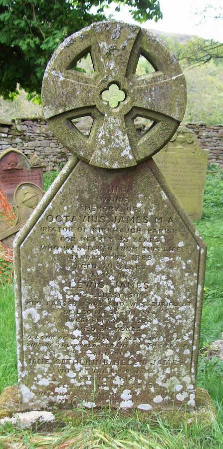 Gravestone Octavius James