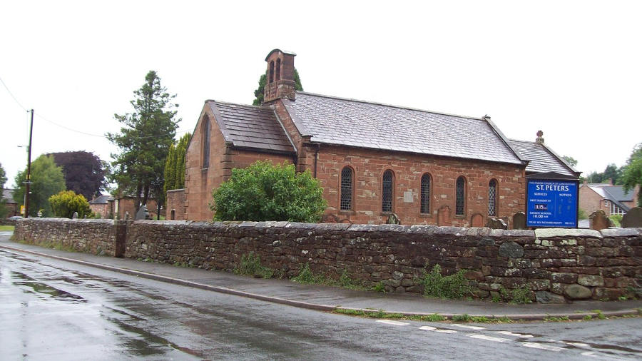 St Peters Church, Langwathby, Cumbria