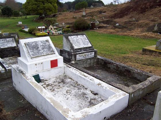 The Moore grave