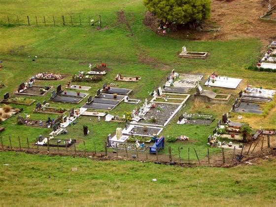 Cemetery of Otaki, Wellington, New Zealand