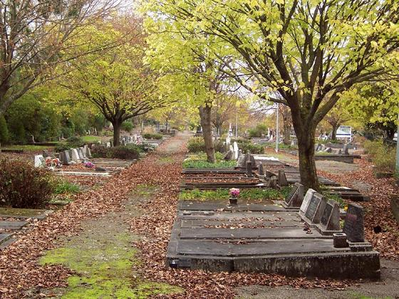 Palmerston North, New Zealand, Terrace End Cemetery