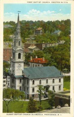 1st Baptist Church, Providence, Rhode Island, USA