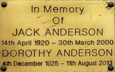 Jack and Dorothy Anderson