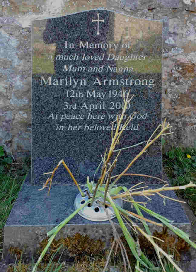 Grave of Marilyn Armstrong