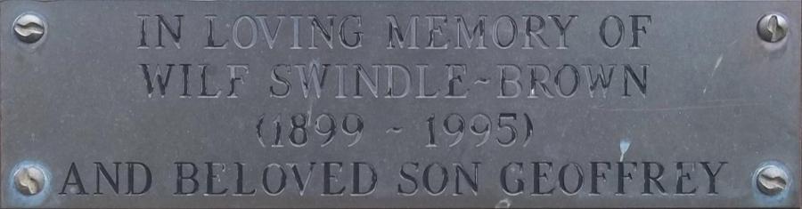 Wilf Swindle Brown