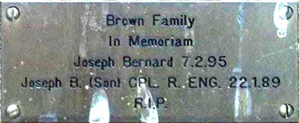 Joseph Bernard and Joseph B. Brown