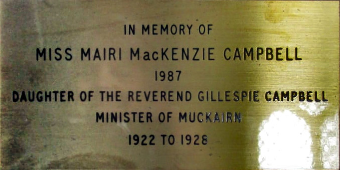 Mairi MacKenzie Campbell