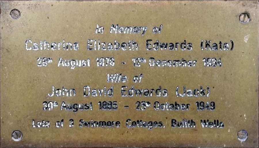 Catherine Elizabeth and John David Edwards