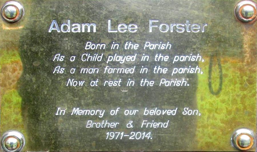Adam Lee Forster