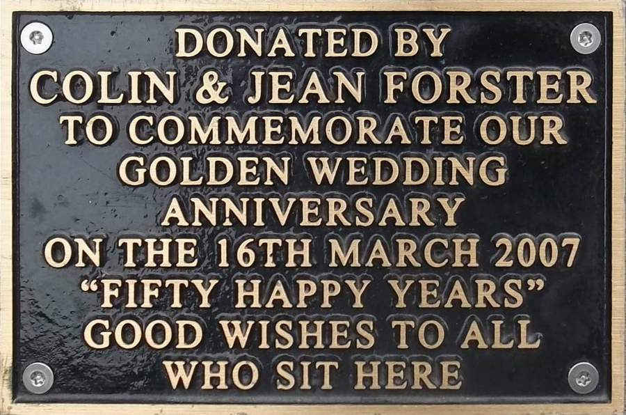 Colin and Jean Forster