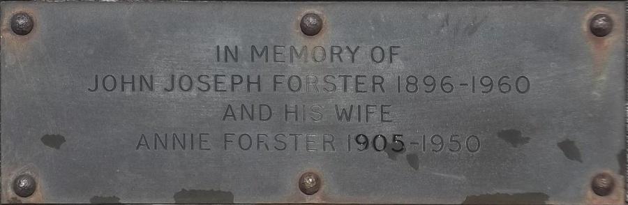 John Joseph and Annie Forster