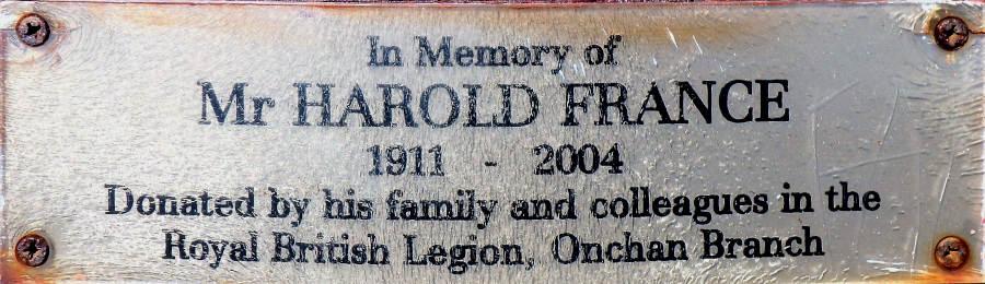 Harold France