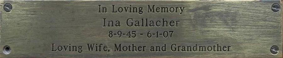 Ina Gallacher