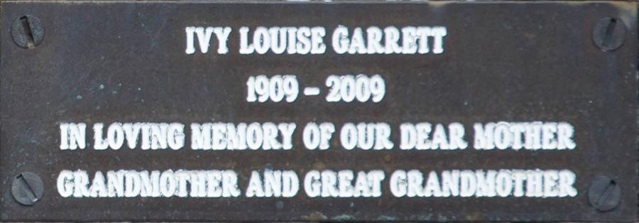Ivy Louise Garrett