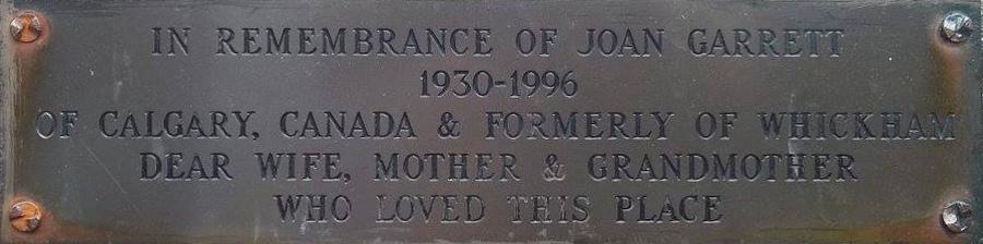 Joan Garrett