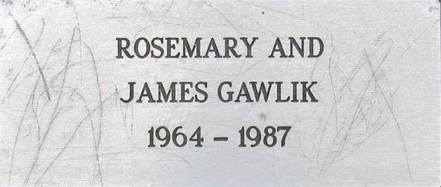 Rosemary and James Gawlik
