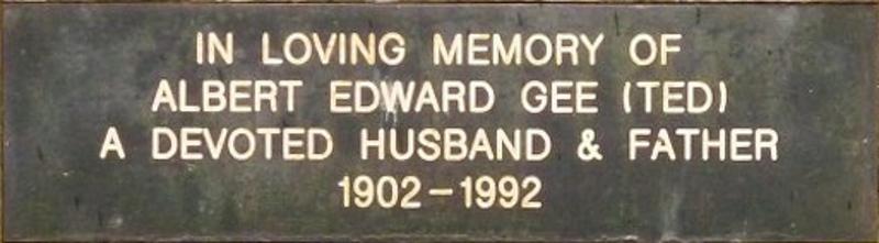 Albert Edward Gee