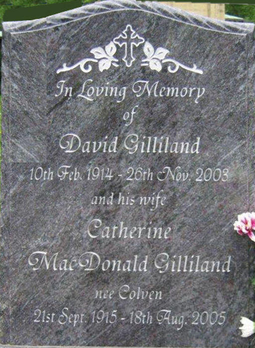 David Gilliland and Catherine MacDonald Gilliland