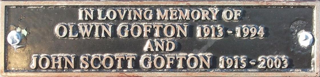 Olwin and John Scott Gofton