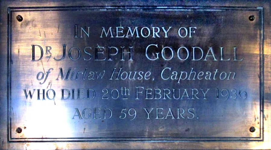Dr. Joseph Goodall