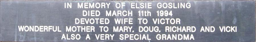 Elsie Gosling