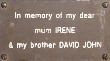 Irene and David John