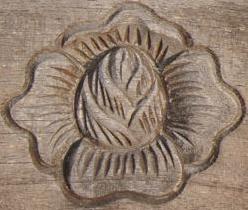 Scarved flower