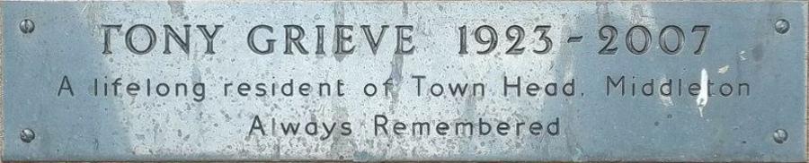 Tony Grieve