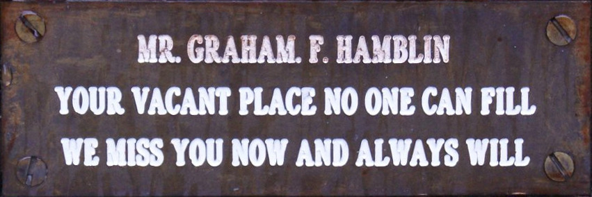 Graham F. Hamblin