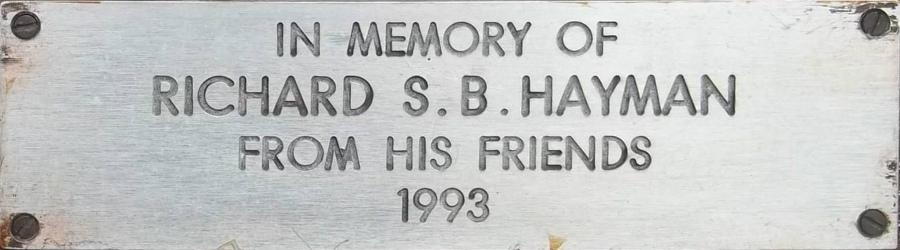 Richard S. B. Hayman