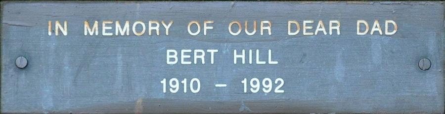 Bert Hill