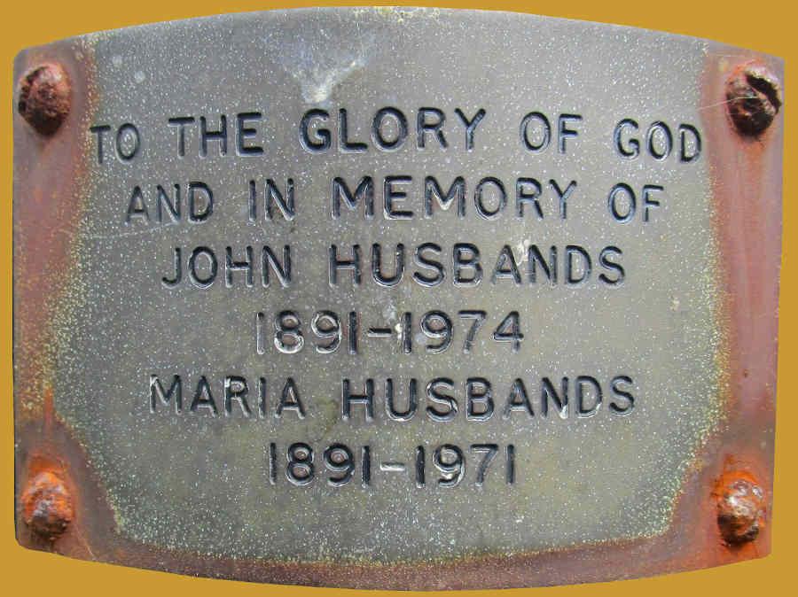 John and Maria Husbands