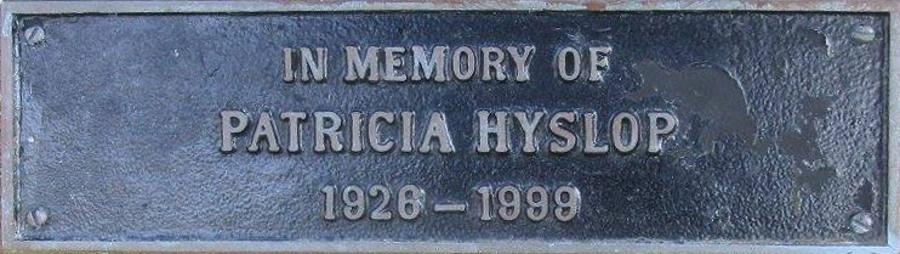 Patricia Hyslop