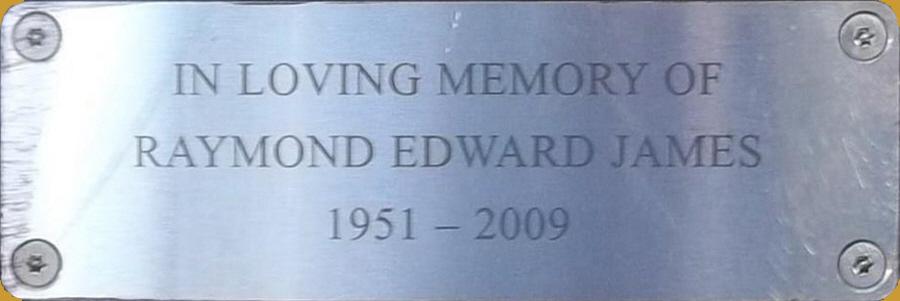 Raymond Edward James