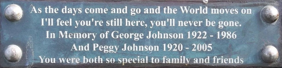 George and Peggy Johnson