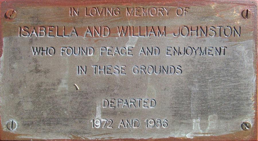 Isabella and William Johnston