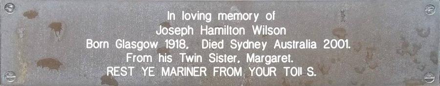 Joseph Hamilton Wilson
