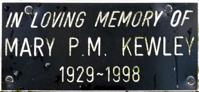 Mary P. M. Kewley