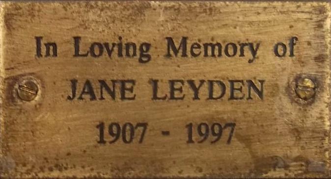 Jane Leyden